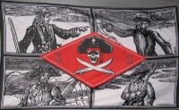 Piraten Fahne / Flagge Chief 90x150 cm
