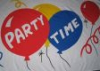 Party Time Fahne / Flagge 60x90 cm