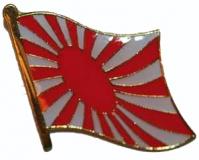 Japan Kriegsflagge Pin