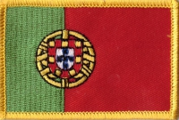 Portugal Aufnäher Patch ca. 5,5cm x 8 cm