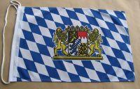 Deutschland Bayern König Ludwig Hissflagge bayerische Fahnen Flaggen 60x90cm