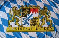 Freistaat Bayern Fahne / Flagge 90x150 cm