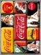 Coca-Cola - Yellow Mix Magnet Set (9 Teilig)