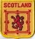 Schottland Royal Aufnäher in Wappenform 7 x 6,5 cm